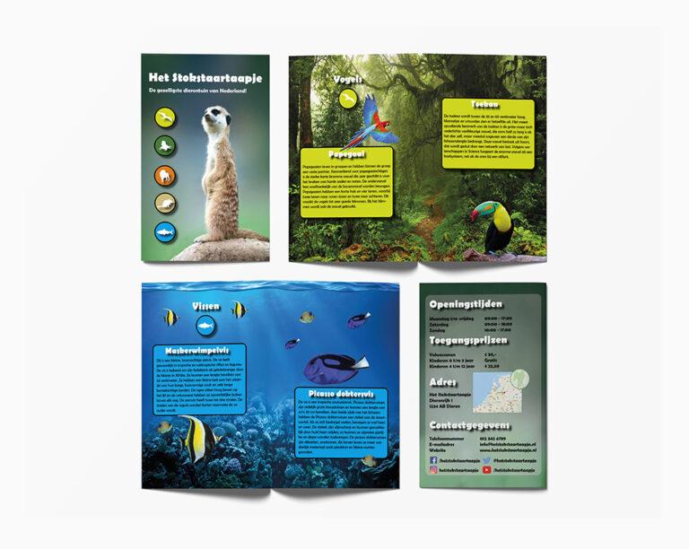 Brochure Dierentuin   SunlineDesign